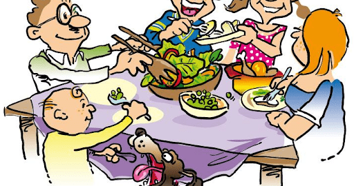Teaching young children table manners